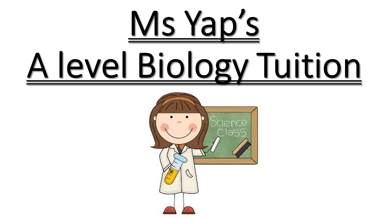 JC A-level H2 Biology Tuition JC A 水准生物学补习- by Ms Yap